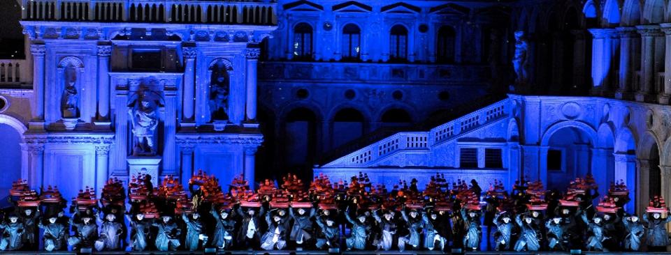 Spettacoli a Venezia: rappresentazione dell'Otello a Palazzo Ducale