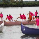 Palio Remiero 2016, la sfida delle Contrade nella laguna di Cavallino