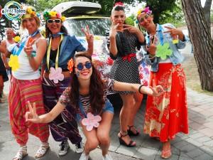 Carnevale in piscina al Camping Village Mediterraneo