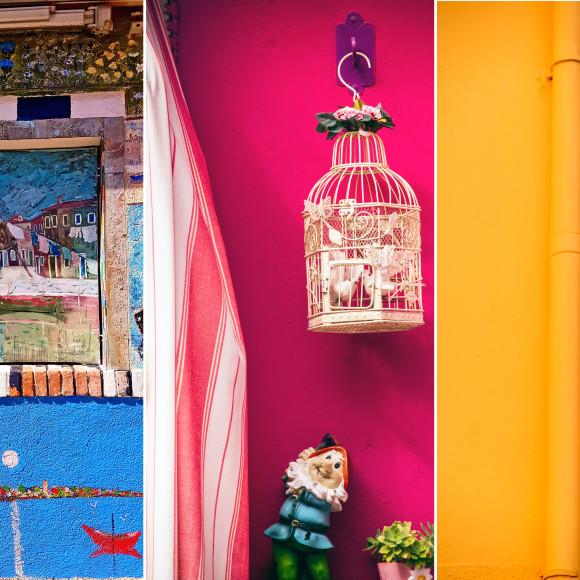 Burano tra intrecci e case colorate