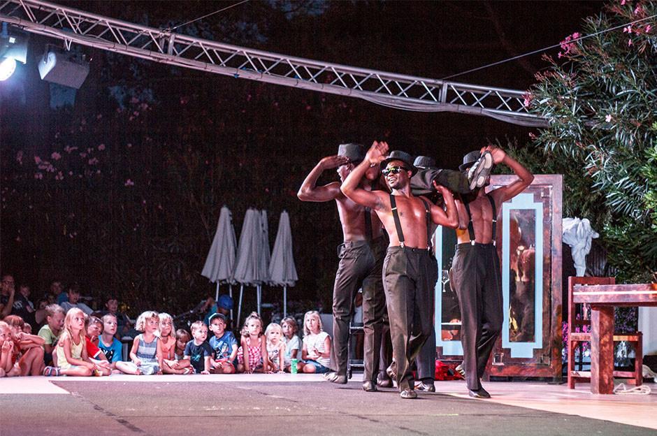 Black Blues Brothers al Camping Village Dei Fiori